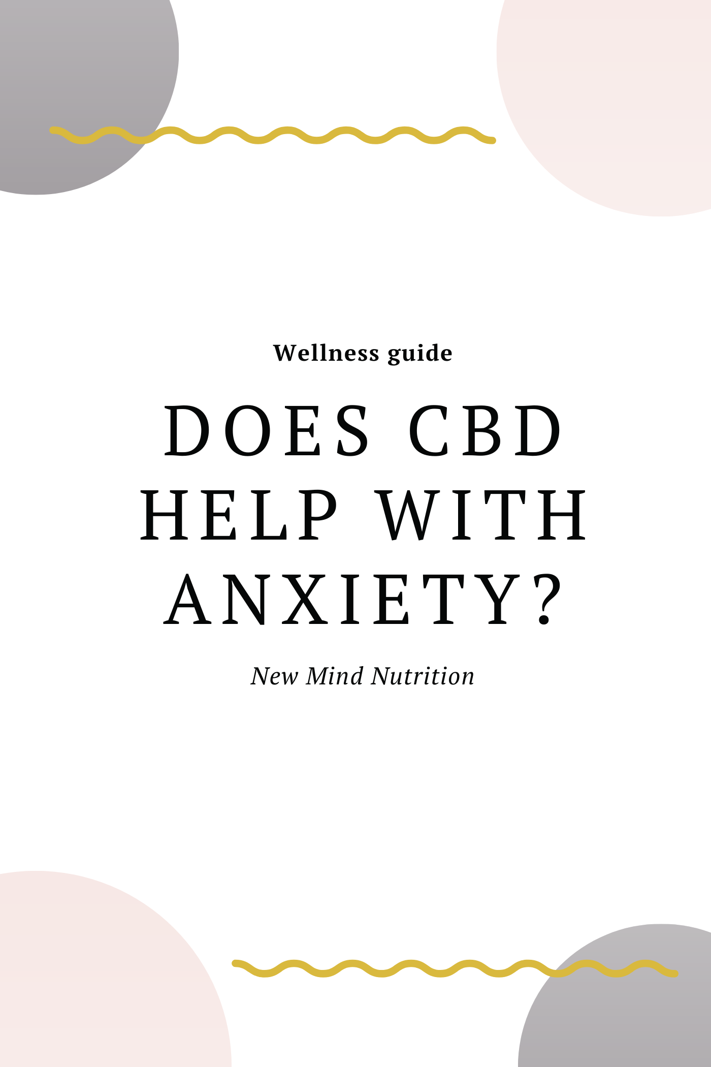 Does CBD help with anxiety?