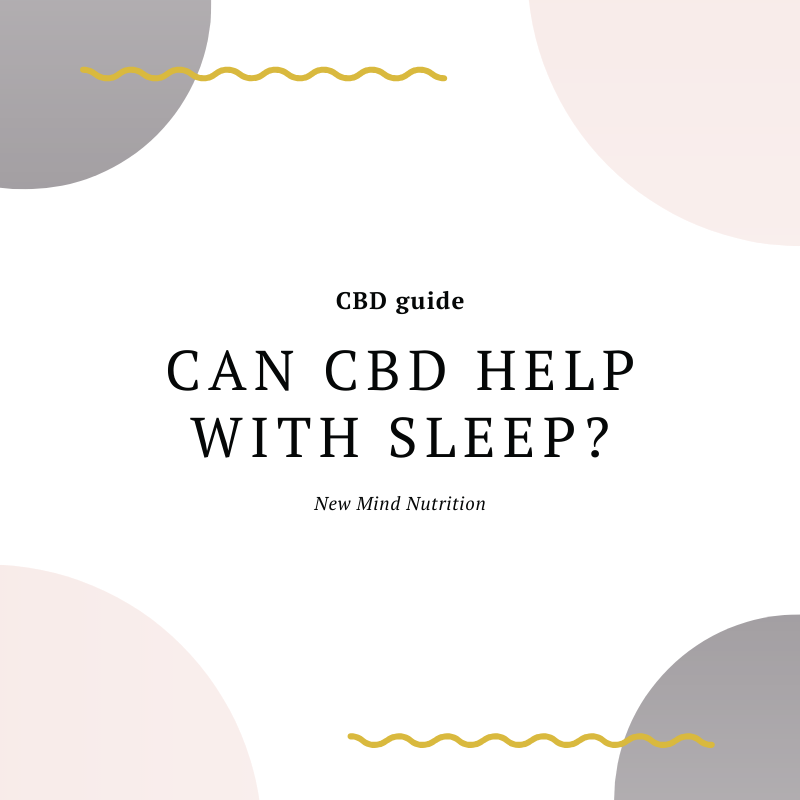 Can CBD help with sleep?